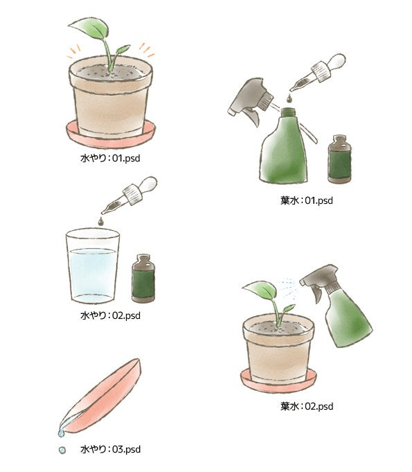 イラスト制作 グラフィック制作 福山